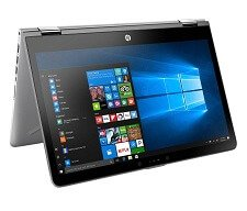 HP x360 Core i3 7th Gen 4GB Windows 10 2 in 1 Laptop EMI Price Starts Rs.1,856